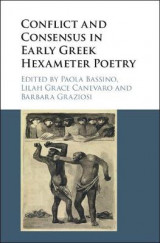 Omslag - Conflict and Consensus in Early Greek Hexameter Poetry