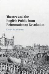 Omslag - Theatre and the English Public from Reformation to Revolution