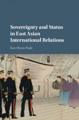 Omslag - Sovereignty and Status in East Asian International Relations