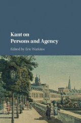 Omslag - Kant on Persons and Agency