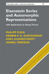 Omslag - Eisenstein Series and Automorphic Representations