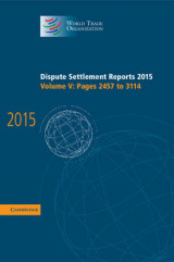 Omslag - Dispute Settlement Reports 2015: Pages 2457-3114 Volume 5