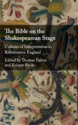 Omslag - The Bible on the Shakespearean Stage