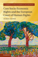 Omslag - Core Socio-Economic Rights and the European Court of Human Rights