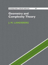 Omslag - Geometry and Complexity Theory