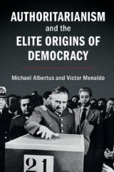 Omslag - Authoritarianism and the Elite Origins of Democracy
