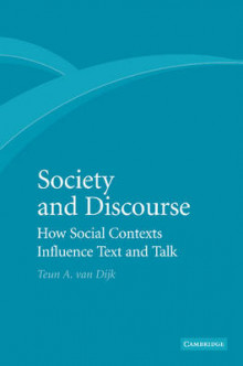 Society and Discourse av Teun A. van Dijk (Heftet)