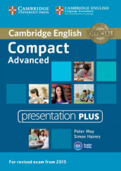 Compact Advanced Presentation Plus DVD-ROM av Simon Haines og Peter May (DVD-ROM)