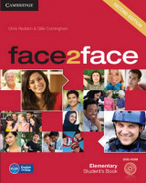 Omslag - face2face Elementary Student's Book with DVD-ROM