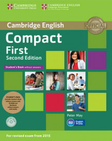 Compact First Student's Pack (Student's Book without Answers with CD ROM, Workbook without Answers with Audio) av Peter May (Blandet mediaprodukt)