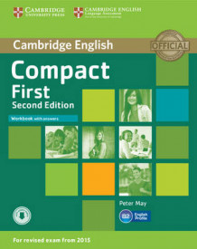 Compact First Workbook with Answers with Audio av Peter May (Blandet mediaprodukt)