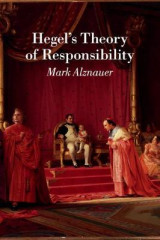 Omslag - Hegel's Theory of Responsibility