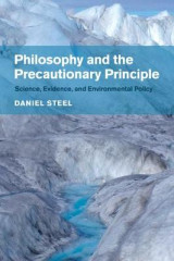 Omslag - Philosophy and the Precautionary Principle