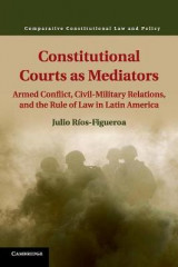Omslag - Constitutional Courts as Mediators