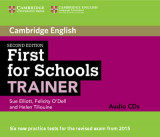 Omslag - First for Schools Trainer Audio CDs (3)