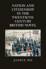 Omslag - Nation and Citizenship in the Twentieth-Century British Novel
