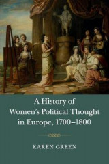 Omslag - A History of Women's Political Thought in Europe, 1700-1800