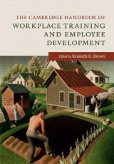 Omslag - The Cambridge Handbook of Workplace Training and Employee Development