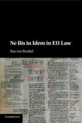 Omslag - Ne Bis in Idem in EU Law