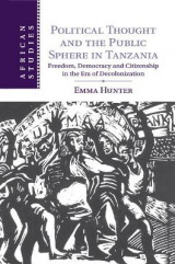 Omslag - Political Thought and the Public Sphere in Tanzania