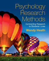 Omslag - Psychology Research Methods