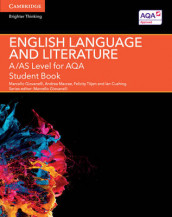 A/AS Level English Language and Literature for AQA Student Book av Ian Cushing, Marcello Giovanelli, Andrea Macrae og Felicity Titjen (Heftet)