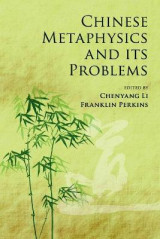 Omslag - Chinese Metaphysics and its Problems
