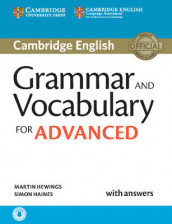 Grammar and Vocabulary for Advanced Book with Answers and Audio av Simon Haines og Martin Hewings (Blandet mediaprodukt)