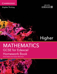 GCSE Mathematics for Edexcel Higher Homework Book av Nick Asker og Karen Morrison (Heftet)