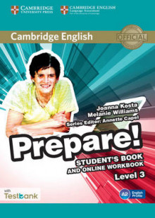 Cambridge English Prepare! Level 3 Student's Book and Online Workbook with Testbank: Level 3 av Joanna Kosta, Melanie Williams og Garan Holcombe (Blandet mediaprodukt)