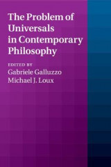 Omslag - The Problem of Universals in Contemporary Philosophy