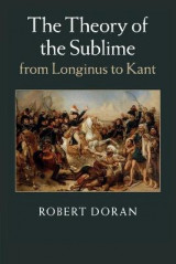 Omslag - The Theory of the Sublime from Longinus to Kant