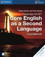 Omslag - Cambridge IGCSE Core English as a Second Language Coursebook with Audio CD