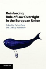 Omslag - Reinforcing Rule of Law Oversight in the European Union