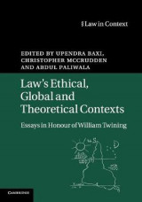 Omslag - Law's Ethical, Global and Theoretical Contexts