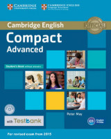 Omslag - Compact Advanced Student's Book Without Answers with CD-ROM with Testbank: Compact advanced student's book without answers