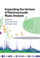 Omslag - Expanding the Horizon of Electroacoustic Music Analysis