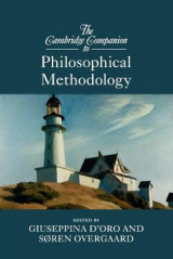 Omslag - The Cambridge Companion to Philosophical Methodology