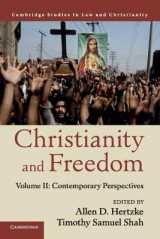 Omslag - Christianity and Freedom: Volume 2, Contemporary Perspectives