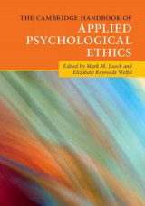 Omslag - The Cambridge Handbook of Applied Psychological Ethics