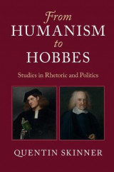 Omslag - From Humanism to Hobbes