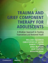 Omslag - Trauma and Grief Component Therapy for Adolescents