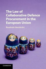 Omslag - The Law of Collaborative Defence Procurement in the European Union