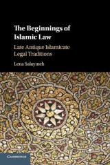 Omslag - The Beginnings of Islamic Law