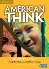 Omslag - American Think Level 3 Student's Book with Online Workbook and Online Practice: Level 3
