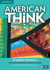 Omslag - American Think Level 4 Student's Book with Online Workbook and Online Practice: Level 4
