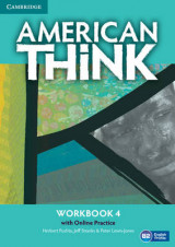 Omslag - American Think Level 4 Workbook with Online Practice: Level 4
