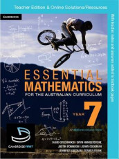 Essential Mathematics for the Australian Curriculum Year 7 Teacher Edition av Kelly Clitheroe, Jenny Goodman, Miranda Pallett, Jennifer Vaughan og Sarah Wills (Heftet)