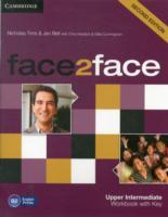 Face2face Upper Intermediate Workbook with Key av Nicholas Tims og Jan Bell (Heftet)