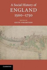 Omslag - A Social History of England, 1500-1750